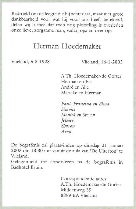 Herman Hoedemaker